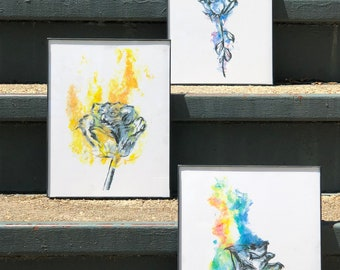 Abstract Rose | Framed Prints