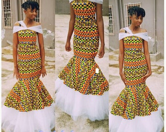 Women Kente Dress Etsy