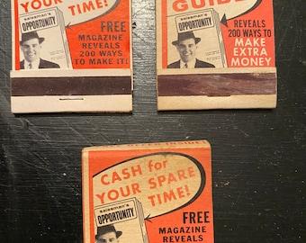 Chevron Etc 14 Advertising Matchbook Covers War Bonds Vintage Misc M*A*S*H Matchbooks