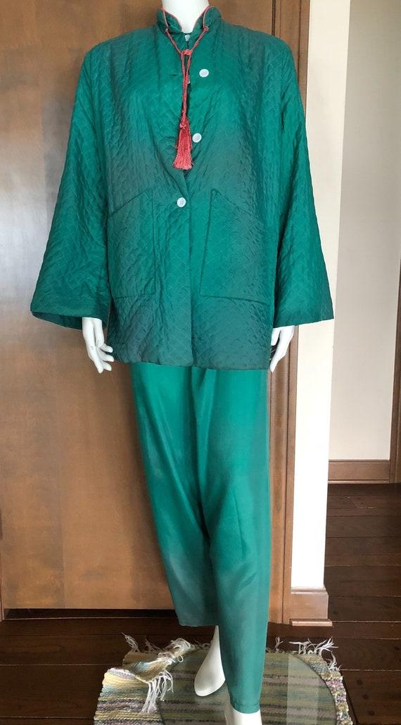 1940s Pajamas Rayon Loungewear Set