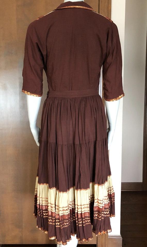 1950s Western Wear Patio Dress Set - image 4