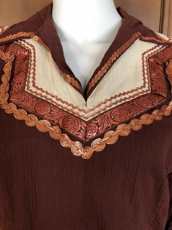1950s Western Wear Patio Dress Set - image 2