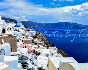 Santorini Digital Download