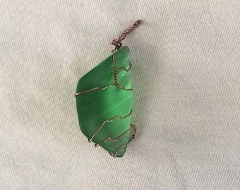 Seagreen Quartz Pendant