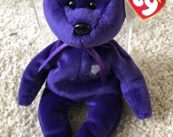 e2002df27e5 Princess Diana RARE Beanie Baby 1997 - Vintage Item - Perfect Condition