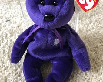 53b440f1496 Princess Diana RARE Beanie Baby 1997 - Vintage Item - Perfect Condition