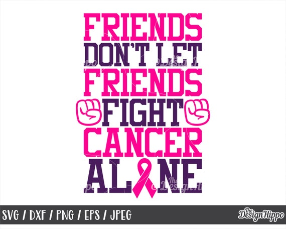 Fight Breast Cancer Svg Breast Cancer Ribbon Svg Breast Etsy