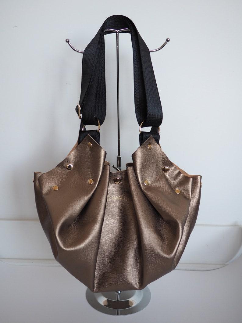 42000b19c73 3 in 1 vegan origami bag & pouch, minimalist, made hand, handbag, shoulder  bag, backpack / / gifts for her