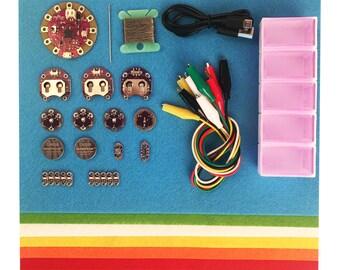 Super e-textile STEM science kit