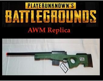 Pubg Awm Replica Toy Sniper Rifle