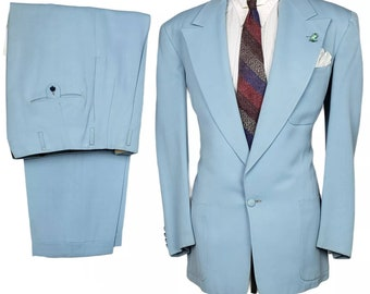 1950s Mens Suit Etsy
