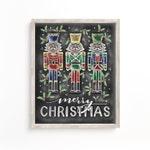 Nutcracker - Merry Christmas - Chalk Art - Christmas Artwork -Chalkboard Art - Hand Lettered Art - Chalkboard Print