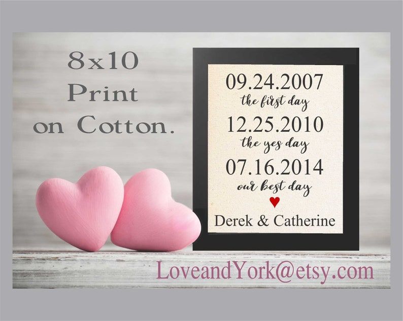 Personalised Framed Valentines Print Gift Couples For Her Him Husband Wife Sign