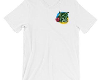 digital cat tee T Shirt