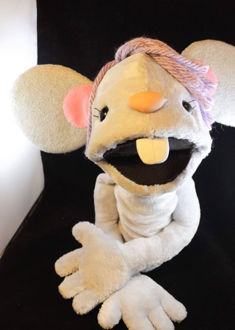 Molly the Mouse Hand Puppet