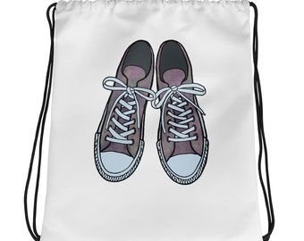 e9f67a95cdcf2 Items similar to Fun Iconic Sneakers Mens and Womens Graphic Poster ...