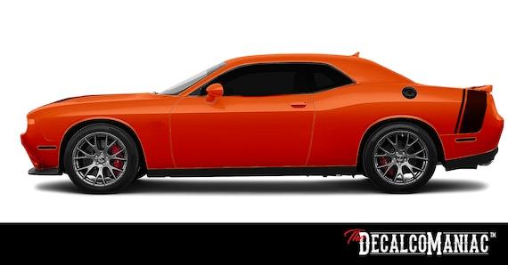 2X Dodge Challenger MOPAR Rocker Panel decals Stripe Vinyl Graphics