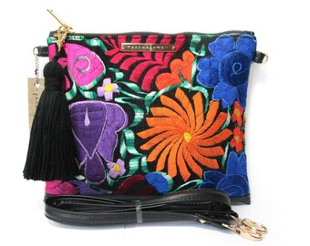 Dalia Crossbody Bag - Chiapas Embroidery