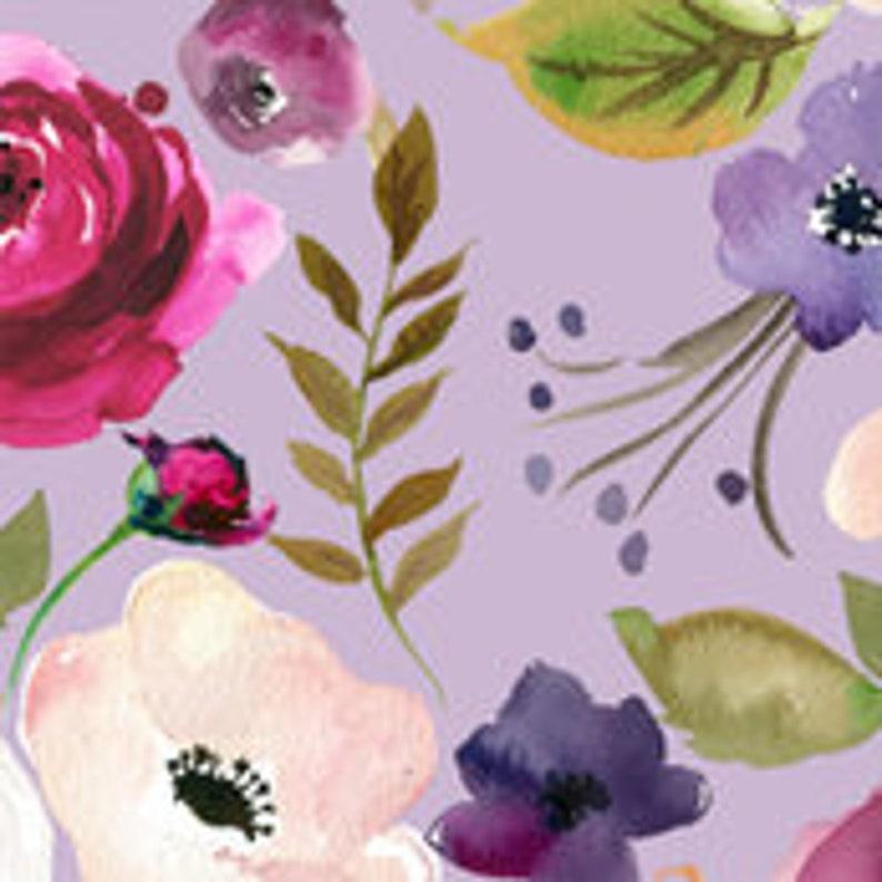 KEAKIA Watercolor Floral Pattern