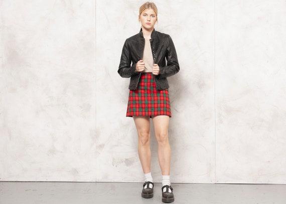 Black Leather Jacket Leather Blazer Jacket 70s Min