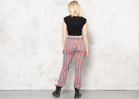TED BAKER Pants 80s Checkered Nerd Pants Plaid Tr… - image 5