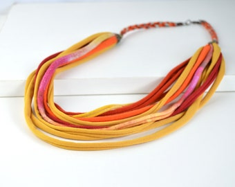 full color necklace, ethnic necklace, trival necklace, african ethnic necklace, african necklace