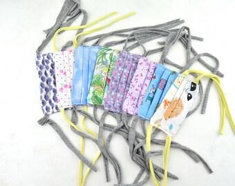 mascarillas de tela lavables con bolsillo para filtro y metal en la nariz, mascarillas de todos los tamaños, mascarillas de tela lavables