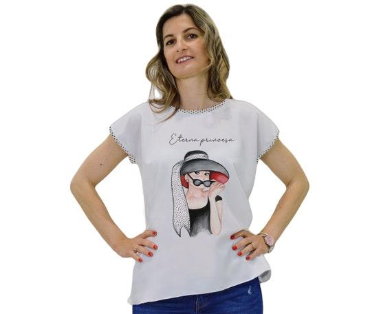 Audrey Hepburn t-shirt, Audrey hepburn print blouse, gifts for Audrey Hepburn fans