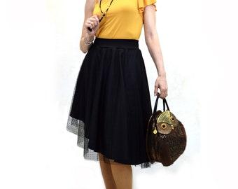 black party skirt, plumeti tulle skirt, black plumeti skirt, black tulle skirt, black tulle party skirt, party skirt