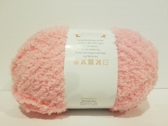 Evonne/'s Premium Baby Soft Yarn Baby Blue #5 Bulky Chunky One Large Double Skein 200 gram 7.05 OZ like Bernat PIPSQUEAK