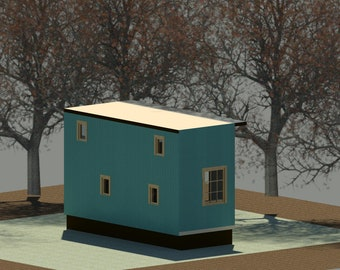 trailer house - ready to build - tiny house on wheels