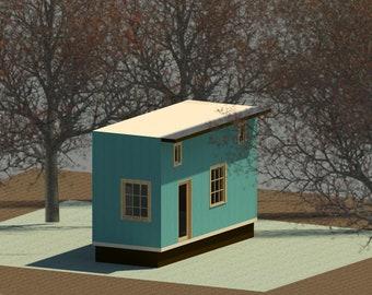 trailer house - ready to build - tiny house on wheels