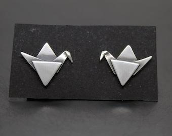 Earrings Silver bow ties 925
