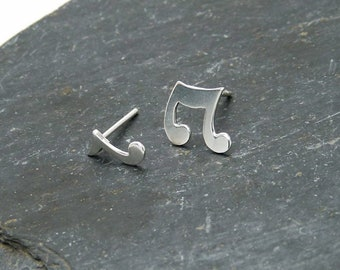 Silver Musical Notes 925