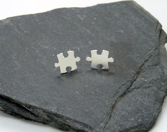 925 Silver Puzzle Earrings