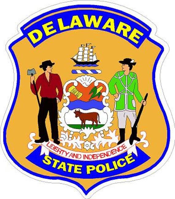 Washington Highway Patrol Reflective Vinyl Decal Car Sticker Sheriff Trooper WA
