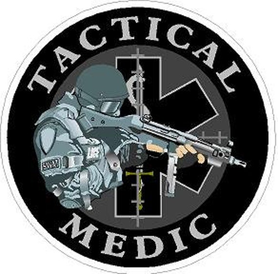 4 Inch Non-Reflective SWAT Special Weapons /& Tactics Sticker Decal