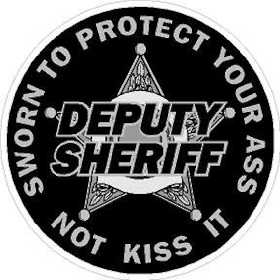 I Support Those Who Protect /& Serve Vinyl Decal Sticker Police Sheriff LEO