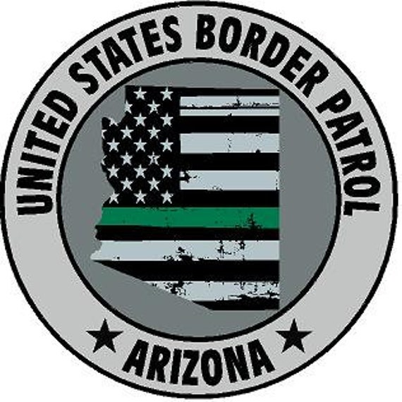 Military Police Thin Blue Line REFLECTIVE Arizona Soldiers American Flag Fire