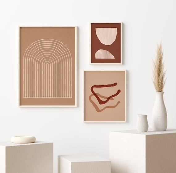 Shop Printable Wall Art Set  Abstract Wall Art Prints  Digital from Etsy on Openhaus
