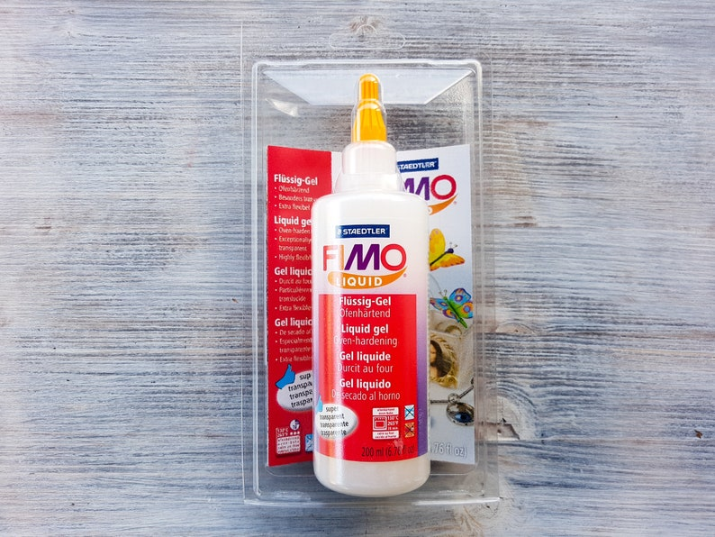 Fimo Liquid Gel 200ml Decorating Gel For Mixing And Creating Etsy
