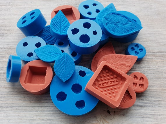 Cernit and Kato clay Silicone mold of Sweets Pardo Modeling tool for accessories and home decor Sculpey Shape for Fimo soap making