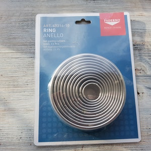Metal round shape Circle cutting tool for Sculpey Metal clay Circle metal cutter 2cm Cernit Kato Pardo Polymer clay cutter tool Fimo