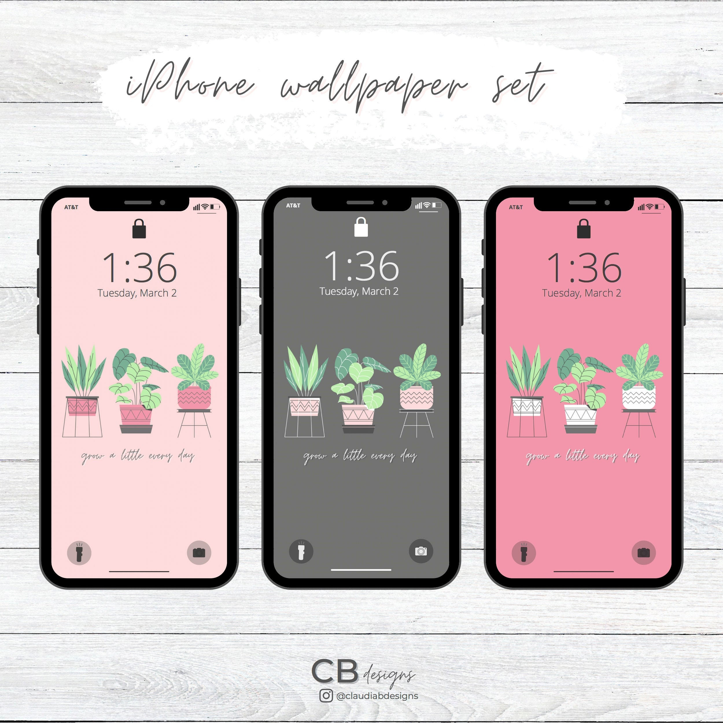 iPhone XS Max, iPhone 211 Pro Max, iPhone Max size wallpaper, Plants Phone  Wallpaper set SIZE 21