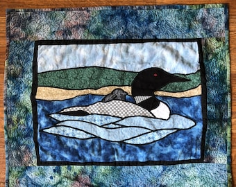 Common Loon (Quilted)