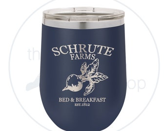 Schrute Farms Bed & Breakfast, Dwight Schrute, The Office - Tumbler