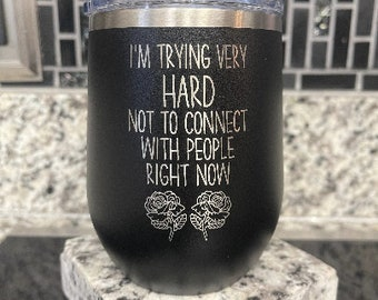 I'm Trying Very Hard Not To Connect With People Right Now, David Rose -  Tumbler