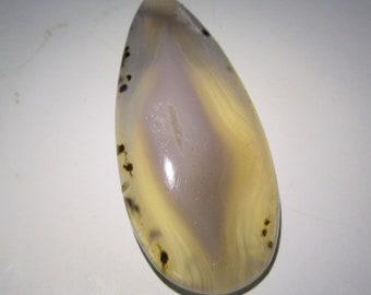 Jewelry Making. Healing Crystal 51.75 Crt Beautiful Rare Dendritic Agate Cabochon ..