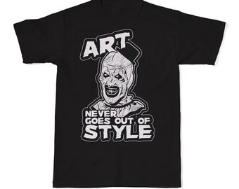 Art Never Goes Out Of Style T-Shirt 8761fd60d