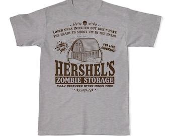 88d3936b2 Hershel's Zombie Storage T-Shirt, The Walking Dead T-Shirts, Zombie T-Shirts,  Zombie Tees